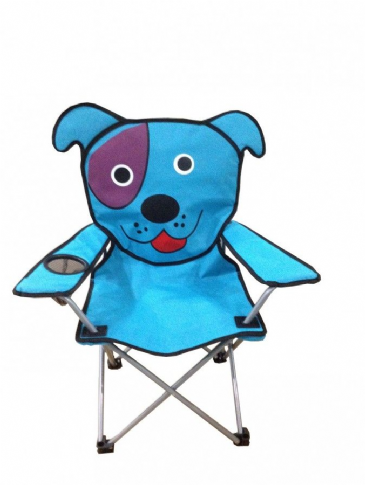 Sunncamp Childrens Camping Chair - Blue Dog